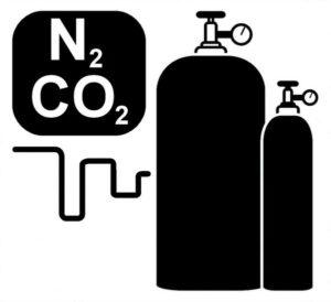 Пивной газ в баллонах