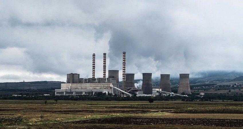 Выбросы углекислого газа в атмосферу